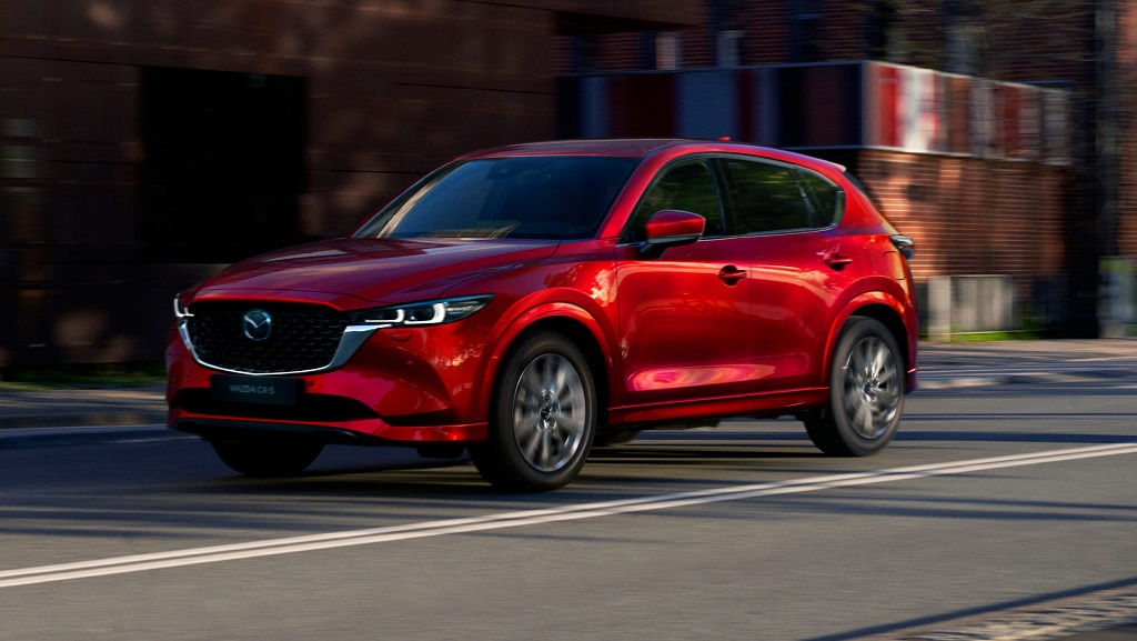 2022 Makyajlı Mazda CX-5 görselleri