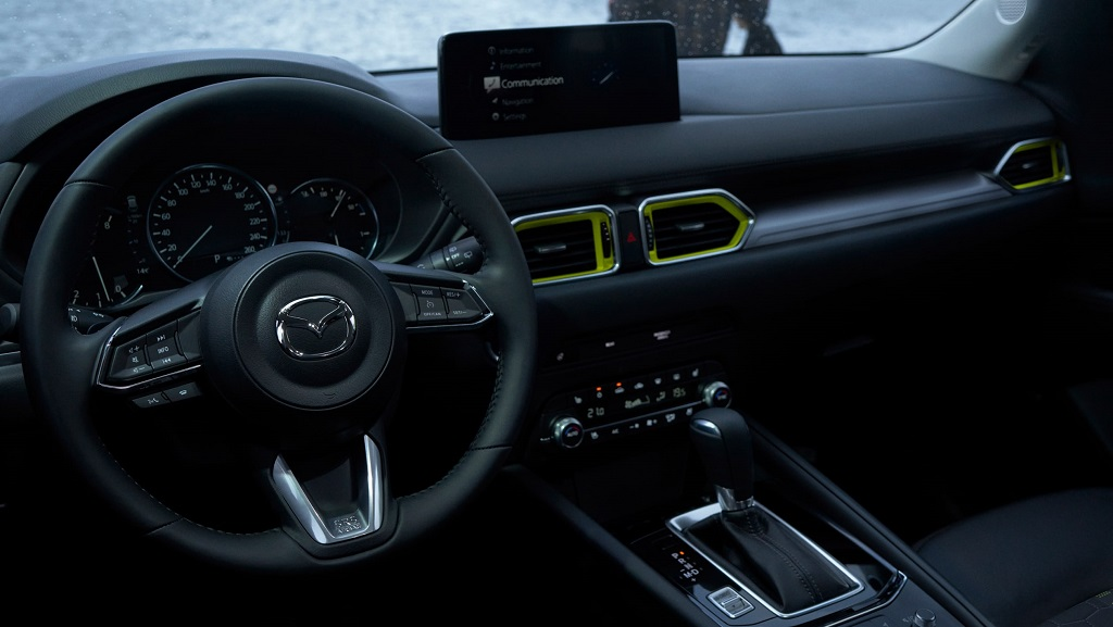 2022 Makyajlı Mazda CX-5 iç tasarım