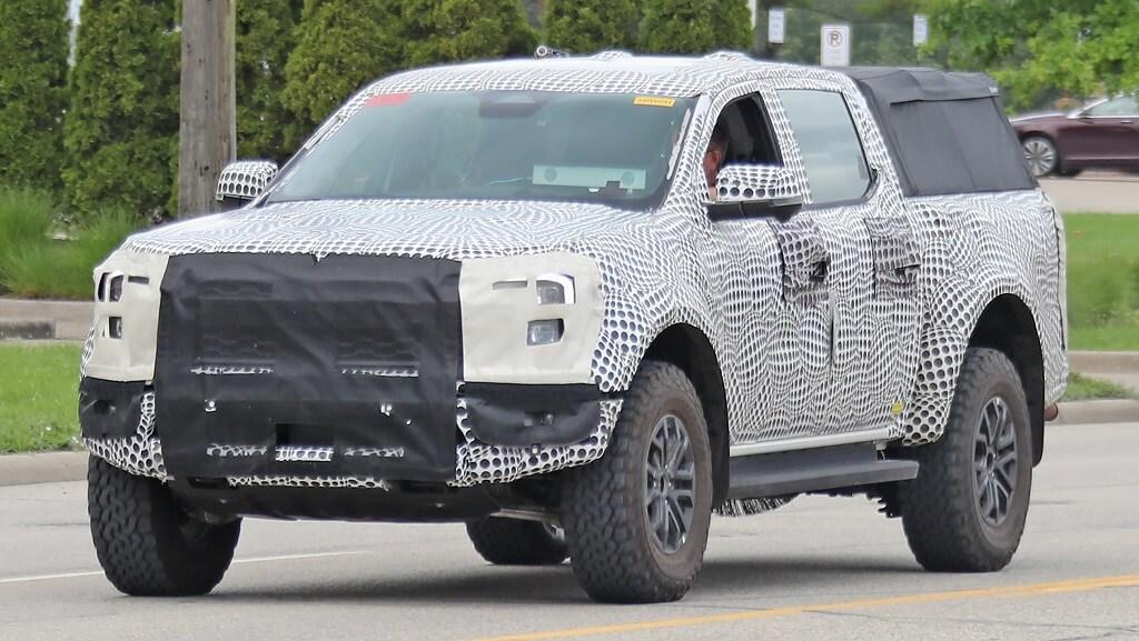 2022 Yeni Ford Ranger Arazi fotoğrafları