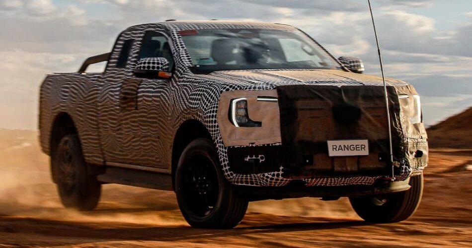 2022 Yeni Ford Ranger Arazi Şovu