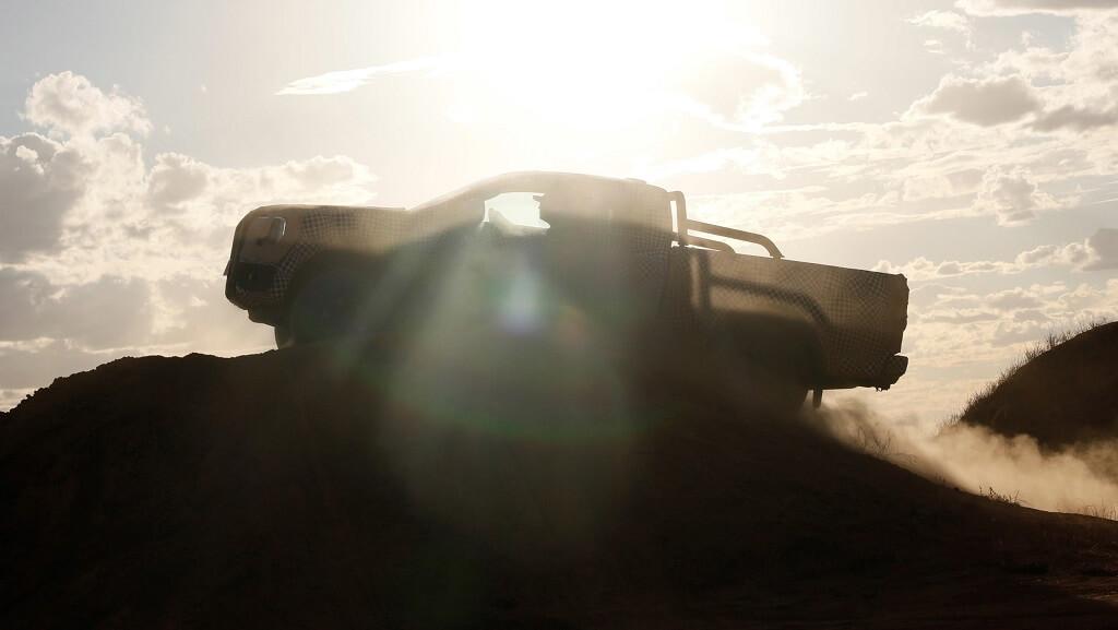 2022 Yeni Ford Ranger Arazi Şovu görüntüleri
