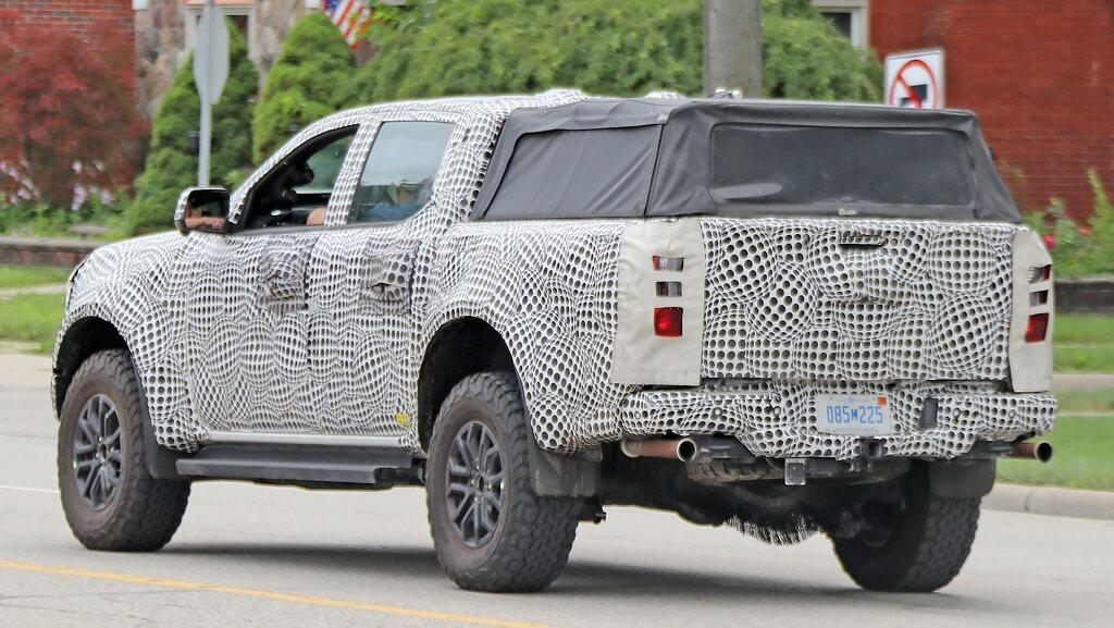 2022 Yeni Ford Ranger fotoğrafları