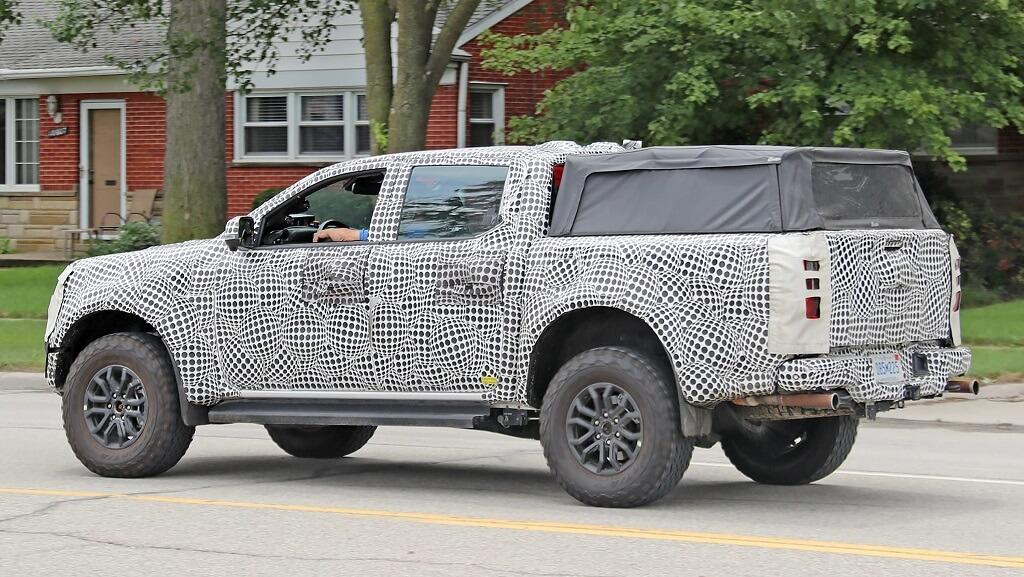 2022 Yeni Ford Ranger kamuflaj