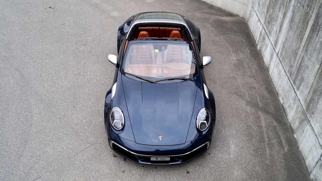 Ares Design Porsche 911 992 Targa modifikasyonu