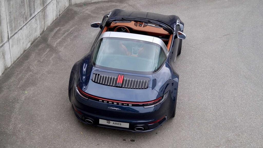 Ares Design Porsche 911 992 Targa modifiye