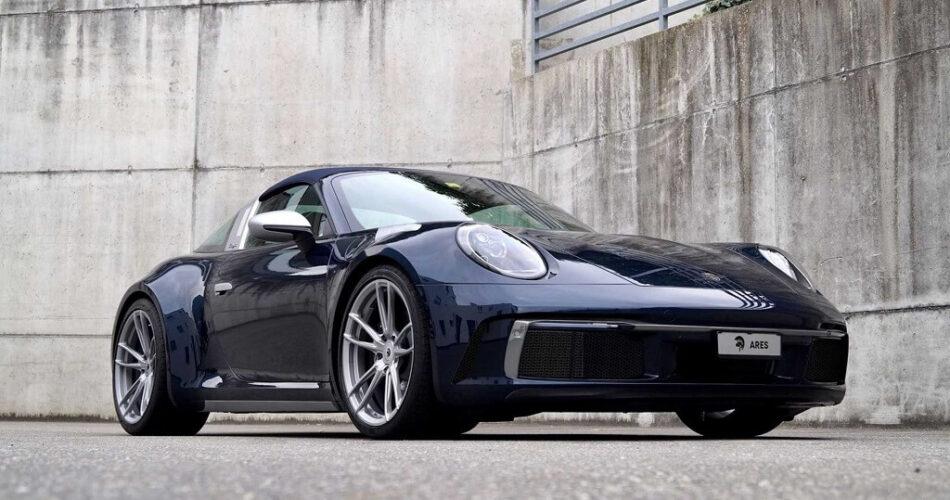 Ares Design'dan Porsche 911'e 992 Targa Dokunuşu