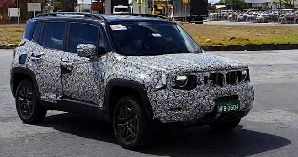 Jeep Renegade Tekrar mı Makyajlanıyor?