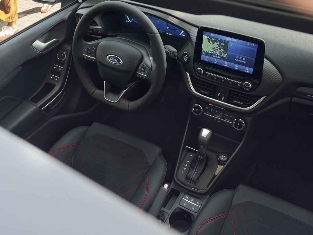 Makyajlı 2022 Ford Fiesta iç mekan