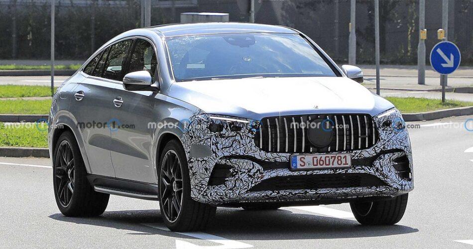 Makyajlı Mercedes GLE Coupe Casus Kameralara Yakalandı