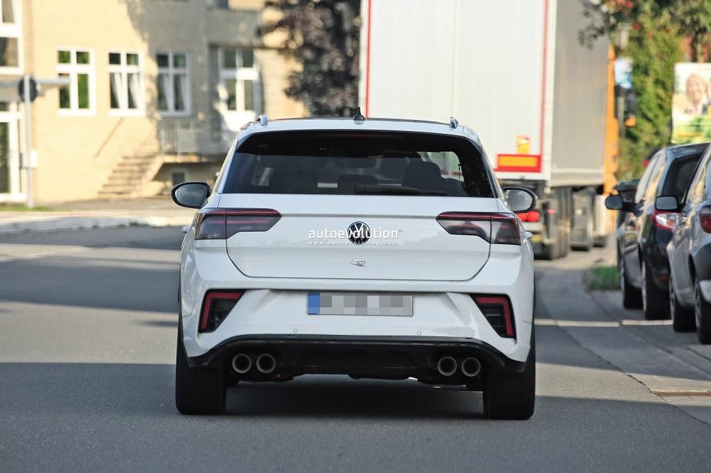 Makyajlı Volkswagen T-Roc R Casus Görüntüler