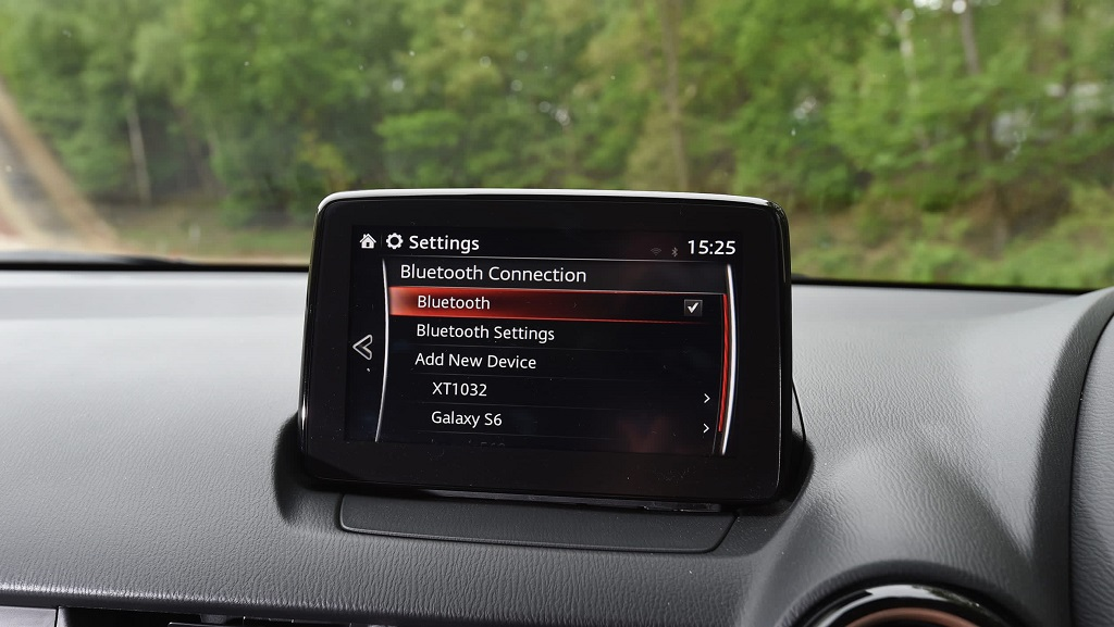 Mazda 2 multimedya sistemi