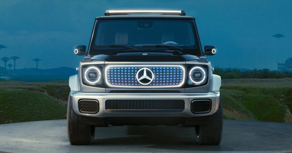 2024 Yeni Mercedes EQG Konsepti - Elektrikli G Serisi