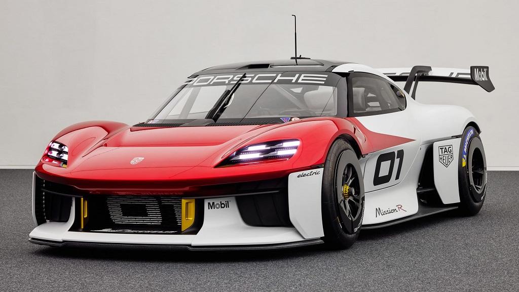 Porsche Mission R konsepti