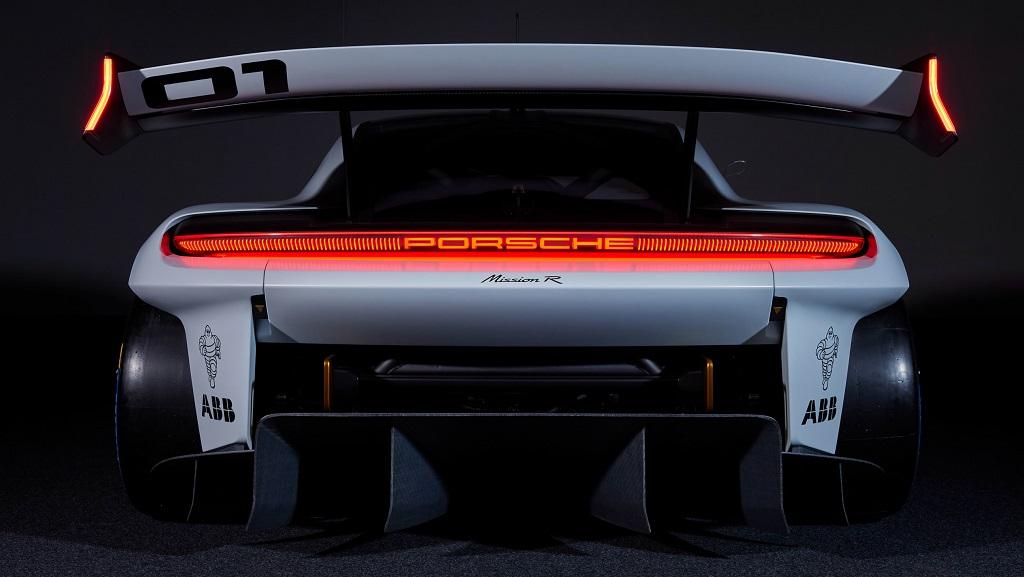 Porsche Mission R konsepti arka tasarım