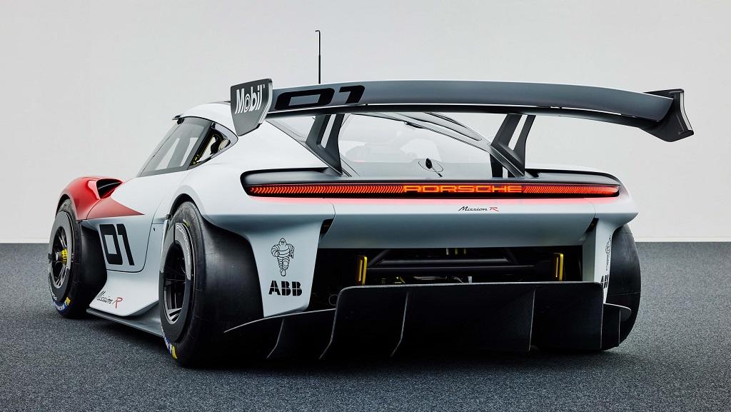 Porsche Mission R konsepti fotoğrafları