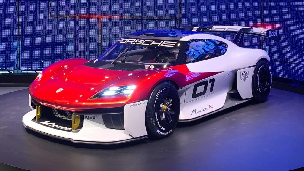 Porsche Mission R konsepti görüntüleri