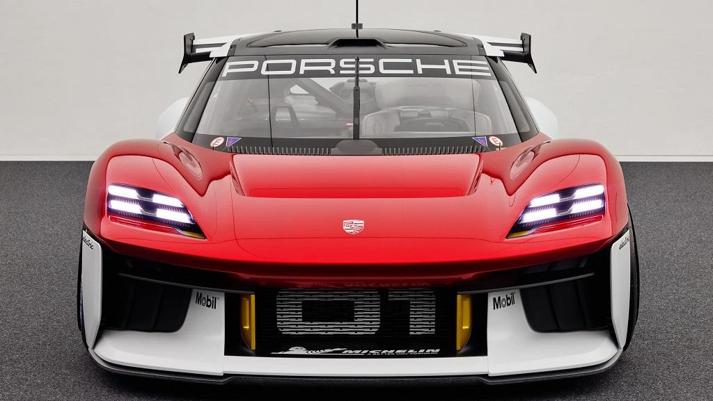 Porsche Mission R konsepti ön tasarım