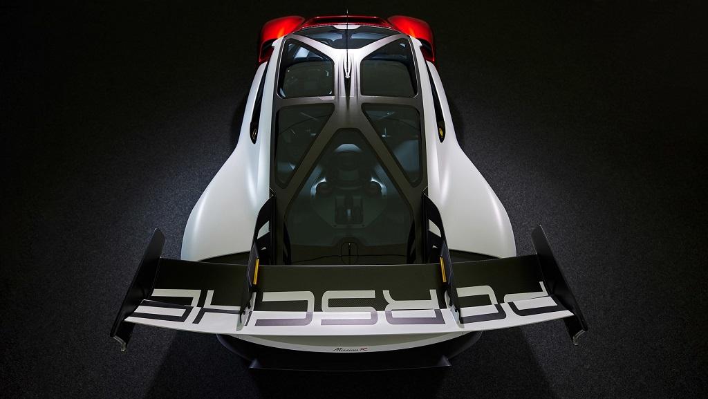 Porsche Mission R konsepti tavan