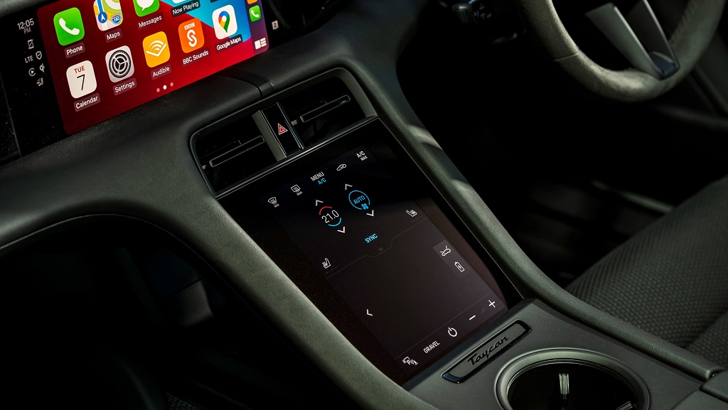 Porsche Taycan 4S Cross Turismo bilgi eğlence sistemi