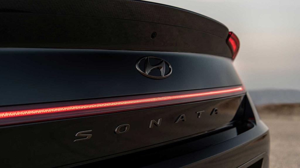 2021 Hyundai Sonata N Line led stop lambaları