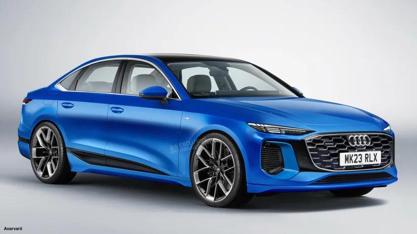 Yeni 2023 Audi A4 Benzinli ve Dizel Motordan Devam Edecek
