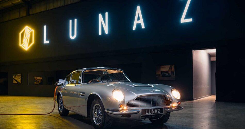 Aston Martin DB6 Elektrikleniyor