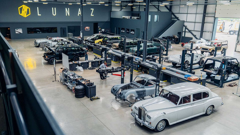 Aston Martin DB6 lunaz fabrikası
