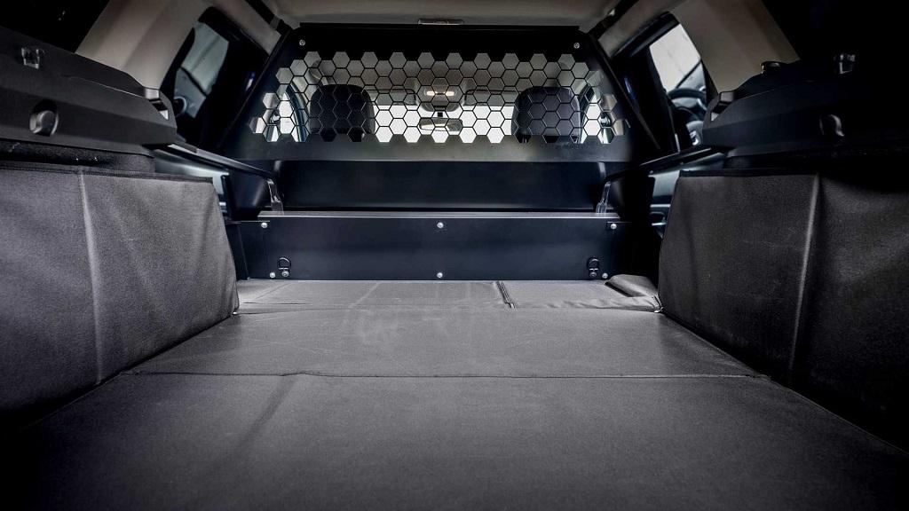 Dacia Duster'ın Ticari Versiyonu bagaj alanı