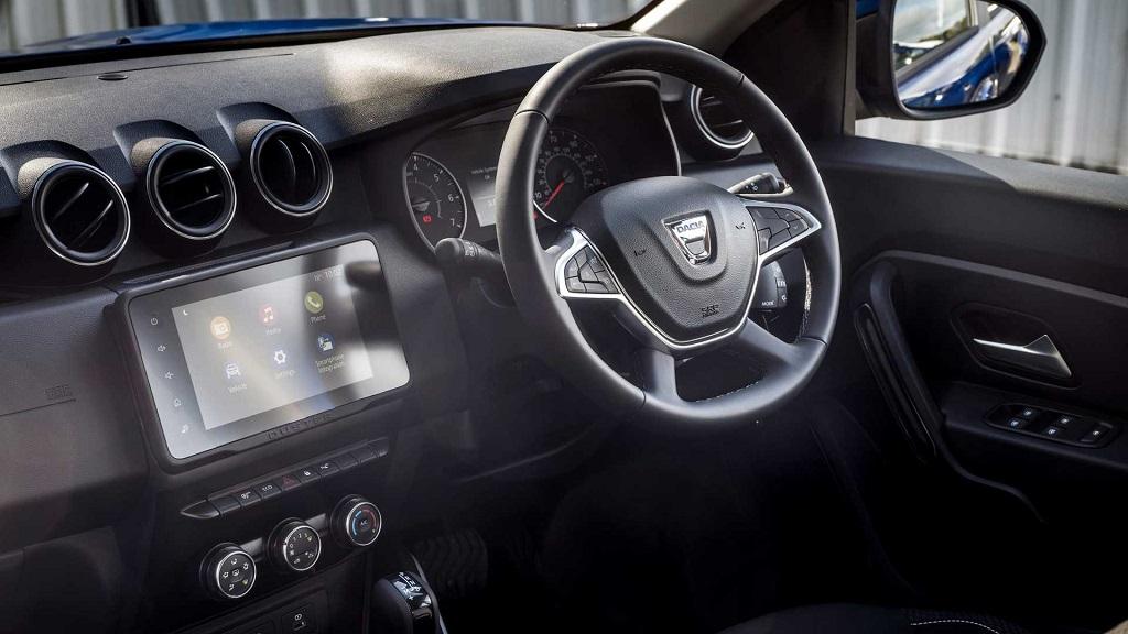 Dacia Duster'ın Ticari Versiyonu iç mekanı