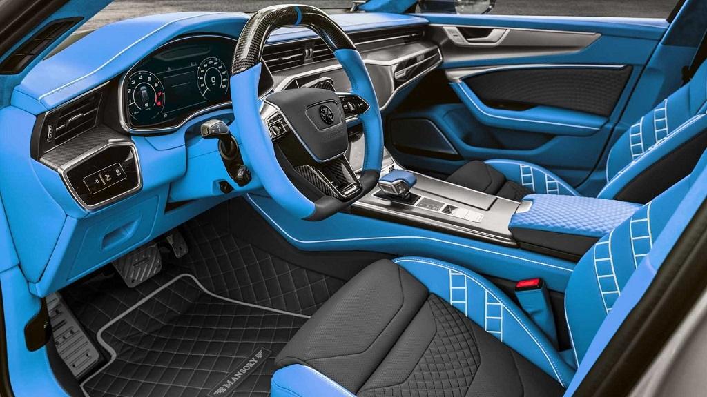 Mansory Modifiyeli Audi RS7 Sportback İç Mekan