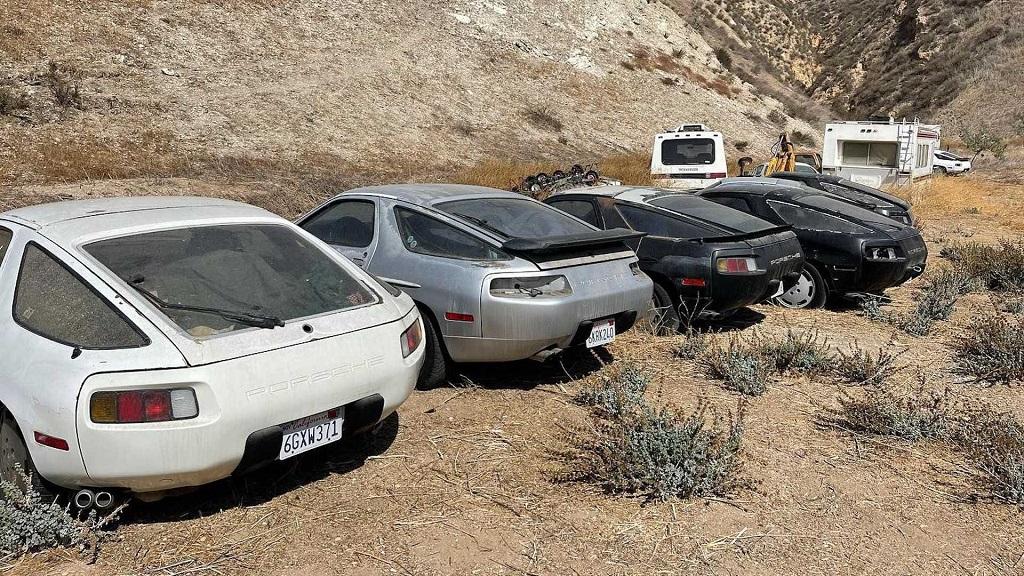 Terkedilmiş Porsche 928'ler