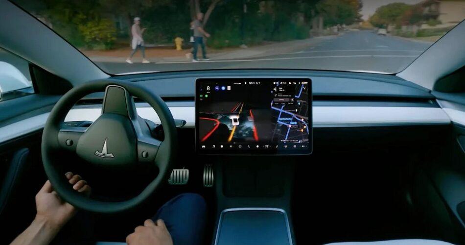 Tesla FSD 10.2 Sürümü Kusursuz Çalışıyor