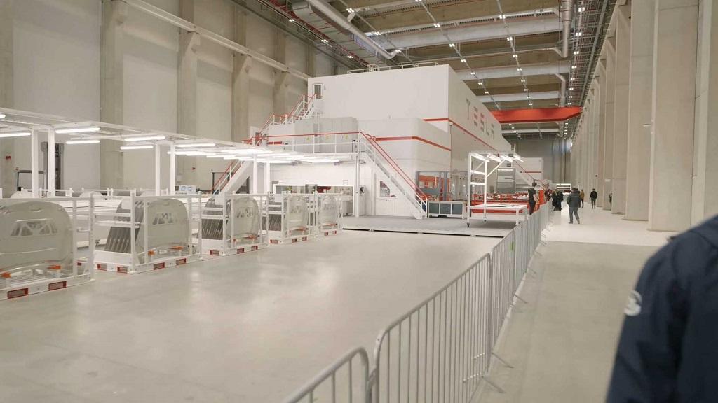 Tesla GigaBerlin Fabrikası